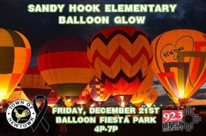 Sandy Hook Elementary Balloon Glow